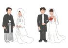 Afbeelding japans huwelijk