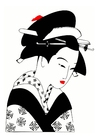 Afbeelding japanse vrouw