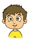Afbeelding jongen met bruin haar