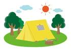 Afbeelding kamperen