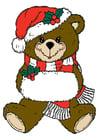 Afbeelding kerstbeer