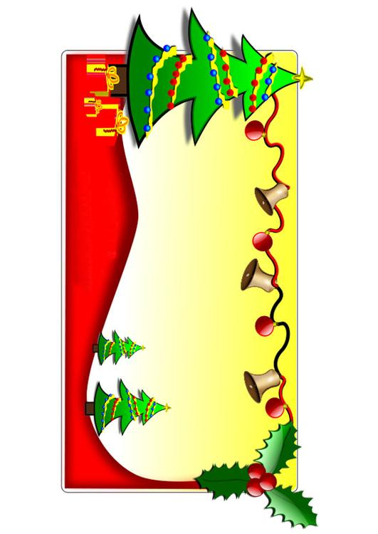 Afbeelding Prent Kerstbomen Afb 20606