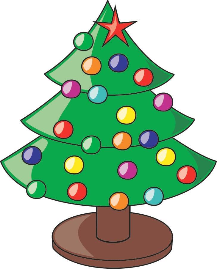 afbeelding kerstboom gratis afbeeldingen om te printen