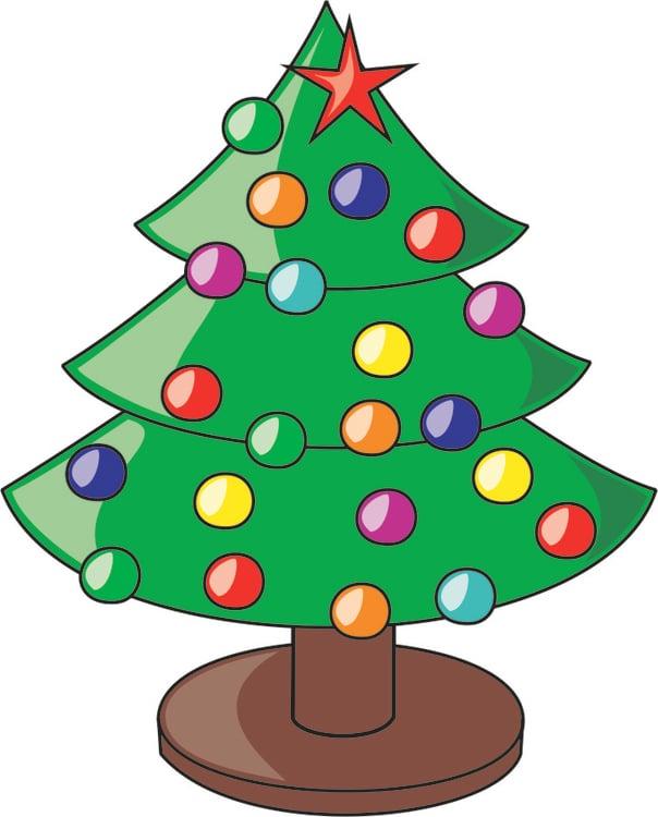 Afbeelding Prent Kerstboom Afb 16204 Images