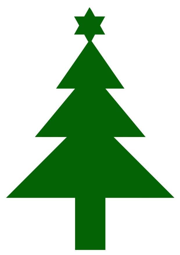 afbeelding kerstboom met ster gratis afbeeldingen om te