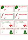 Afbeelding kerstgeschenk kaartjes