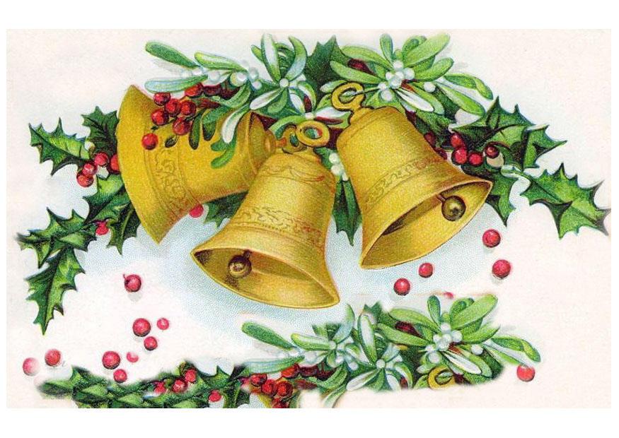 Afbeelding Prent Kerstklokjes Afb 20495