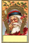 Afbeelding kerstman