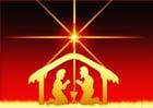 Afbeelding kerststal