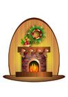 Afbeelding kersttaffereel