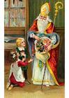 Afbeelding kinderen bij Sinterklaas