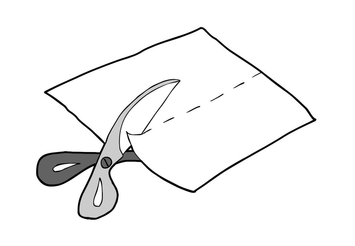 Afbeeldingsresultaat voor knippen tekening