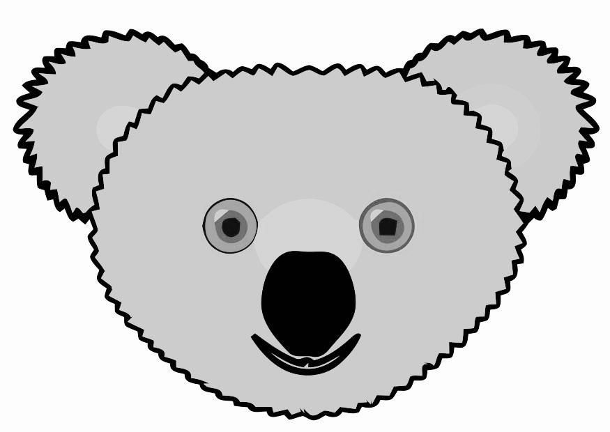 Afbeeldingen Kleurplaten Dieren Afbeelding Prent Koala Afb 19478