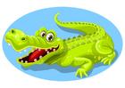 Afbeelding krokodil