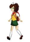 Afbeelding manga meisje