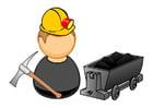 Afbeelding mijnwerker