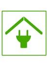 Afbeelding milieuvriendelijk huis
