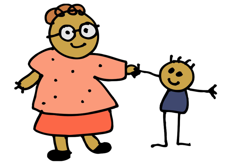 Afbeelding moeder en kind