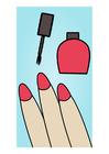 Afbeelding nagels lakken