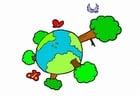 Afbeelding natuur - klimaat - de aarde