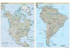 Afbeelding Noord- en Zuid Amerika