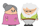 Afbeelding oma en opa