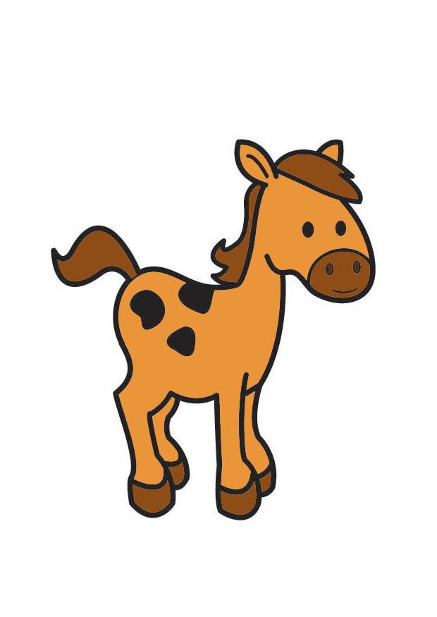 Afbeelding Prent Paard Afb 21041