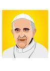 Afbeelding paus Franciscus