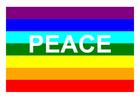 Afbeelding peace vlag