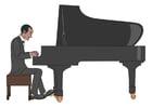 Afbeelding piano spelen