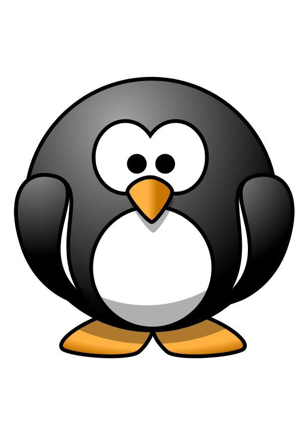 Afbeelding Prent Z1 Pinguin Afb 10803