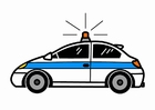 Afbeelding politieauto