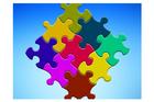 Afbeelding puzzlestukjes