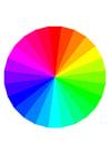 Afbeelding regenboog kleuren