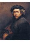 Afbeelding Rembrandt - zelfportret