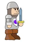 Afbeelding ridder