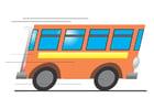 Afbeelding rijdende bus