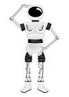 Kleurplaat robot