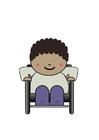 Afbeelding rolstoelgebruiker