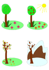 Afbeelding seizoenen