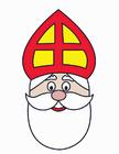 Afbeelding Sinterklaas gezicht
