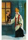 Afbeelding Sinterklaas met speelgoed