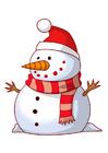 Afbeelding sneeuwman