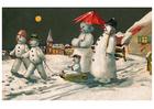 Afbeelding sneeuwpoppen