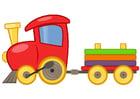 Afbeelding speelgoedtrein