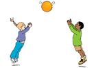 Afbeelding spelen met bal
