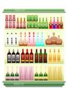 Afbeelding supermarkt - drankafdeling