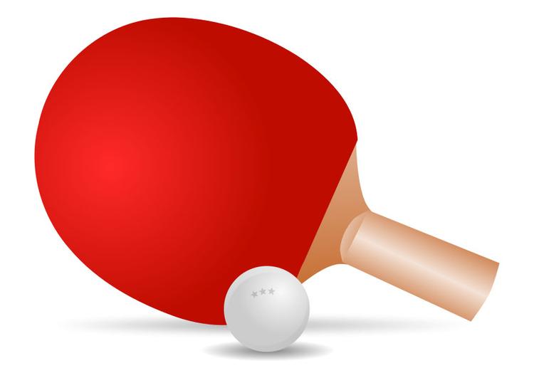 Afbeelding prent tafeltennis afb 27718 - Classement individuel tennis de table ...