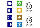 Afbeelding tijd - seizoenen