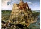 Afbeelding toren van Babel door Pieter Bruegel de Oude